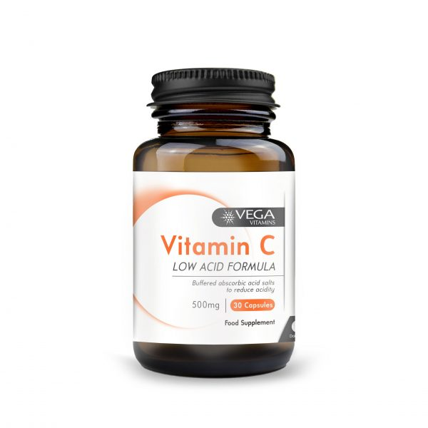 Vitamin C 500mg 30 capsules bottle