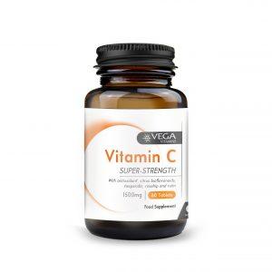 Vitamin C 1500mg 60 capsules bottle