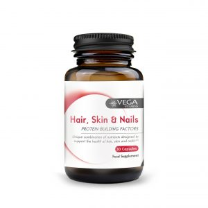 Hair, Skin and nails 30 capsules bottle