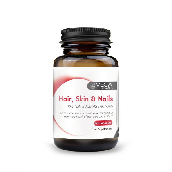 Hair, Skin and nails 60 capsules bottle